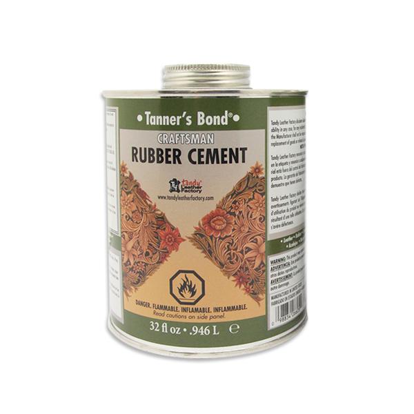 2526-03 Tanners Bond Rubber Cement Quart (32oz)