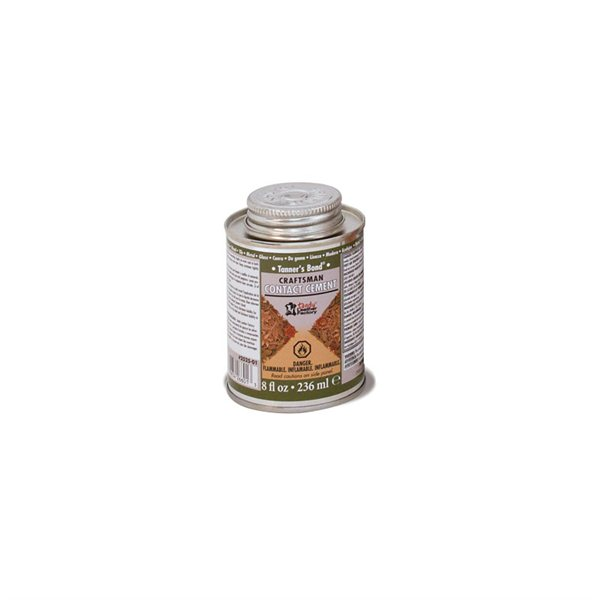 2525-01 Tanners Bond Craftsman Contact Cement 8 oz
