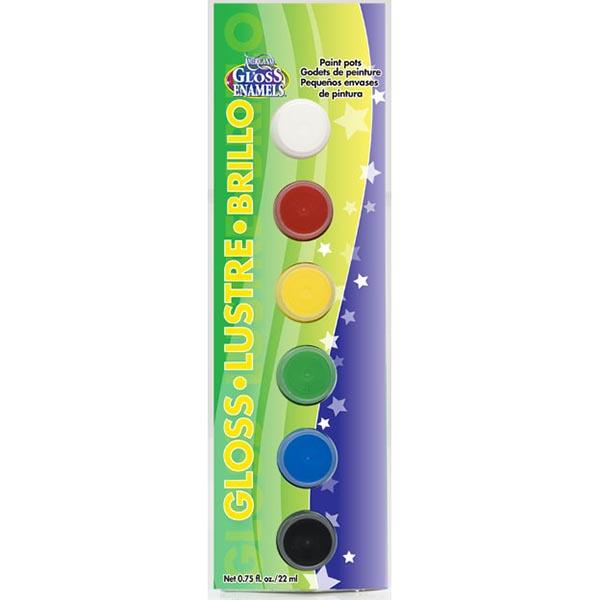 [특가판매]DAPK255 Americana Gloss Enamels 6-Color Value Pack