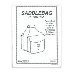 특가판매6030-00 Saddle Bag Pattern Pack