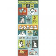 Embossed Stickers:ST-0953 Snow Day[특가판매]