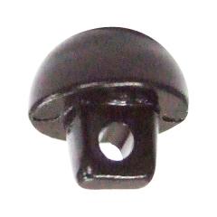 단추형 인형눈-8mm검정(10개)