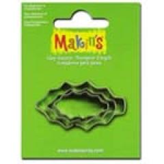 [특가판매]36028-Makin`s Cutter Set 3P / Holly Leaf