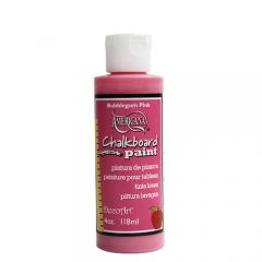 [특가판매]DS99-칠판페인트/ Chalkboard Paint - 4oz(118ml) Bubblegum Pink