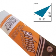 (특가판매)Prima® Acrylic Colors 118ml - 2421 TURQUOISE
