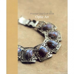Polymer Clay Craft Book-Ophir Art[특가판매]