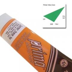 (특가판매)Prima® Acrylic Colors 118ml - 2428 PHTH YELLOW GREEN