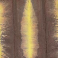 운용화선지 염색한지 09 - 갈색+노랑 계열