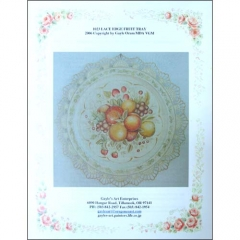 [특가판매][Packet]#1023 Lace Edge Fruit Tray