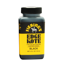 2225-01 Fiebing's Edge Kote 4 oz Black