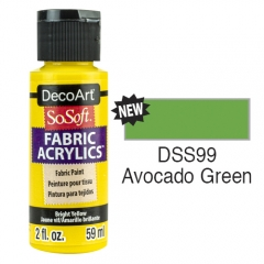 SoSoft Fabric Color-2oz(59ml)-DSS99-Avocado Green
