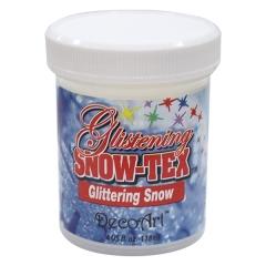 Glittering Snow Tex-4 oz(118ml)/반짝이 눈질감용 물감