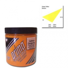 (특가판매)Prima® Acrylic Colors 236ml - 2812 HANSA YEL. MED.