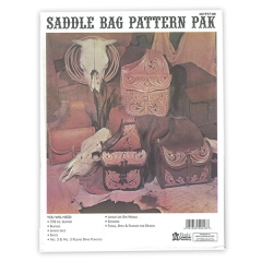 특가판매61917-00 Western Saddle Bag Pattern Pack