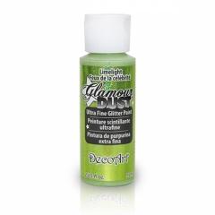 Glamour Dust Glitter Paints-DGD05 Limelight-2oz(59ml)