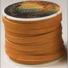 5009-03 Premium Latigo Lace Tan 1/4`` x 36ft