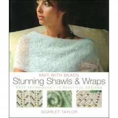Knit With Beads Stunning Shawls and Wraps[특가판매]