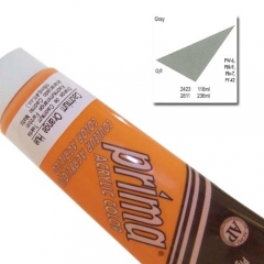 (특가판매)Prima® Acrylic Colors 118ml - 2423 GRAY (NEUT #5)