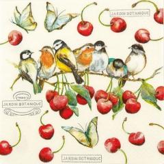 211530-Cherry Birds 넵킨페이퍼(20매)
