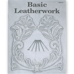 특가판매6008-00 Basic Leatherwork Book