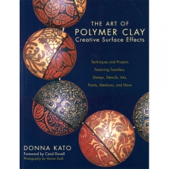 [특가판매]The Art of Polymer Clay Creative Surface Effects