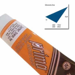 (특가판매)Prima® Acrylic Colors 118ml - 2422 ULTRA BLUE