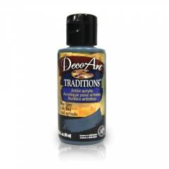 DecoArt Traditions Acrylic Paint-DAT30: Blue Grey-3oz(90ml)