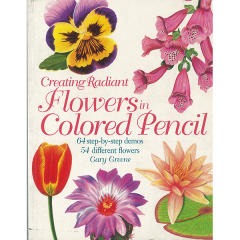 [특가판매]Creating Radiant Flowers in Colored Pencil