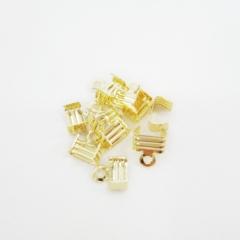 7단끝장식(금도금)-(10개)