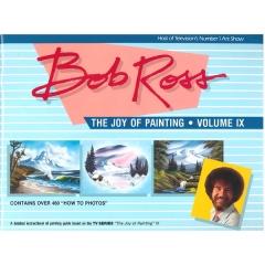 [특가판매] Bob Ross교재:R009-Joy of Painting Vol.9