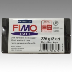 FIMO SOFT-9 Black 8oz