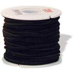 5014-01 Suede Lace 1/8`` x 25 yds. (0,3 cm x 22.9 m) Black