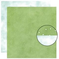 Cardstock:PA-0650 Lime Dts & Snw BI CS[특가판매]