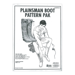 특가판매62690-00 Plainsman Boot Pattern Pack