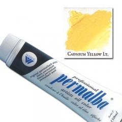 (특가판매)Professional Permalba Oil Colors 150ml - 1210 CADMIUM YELLOW LIGHT