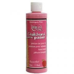 [특가판매]DS99-칠판페인트/ Chalkboard Paint - 8oz(236ml) Bubblegum Pink