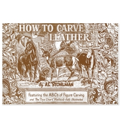 특가판매6047-00 How To Carve Leather Book