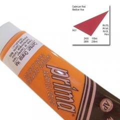 (특가판매)Prima® Acrylic Colors 118ml - 2406 CAD RED MED HUE