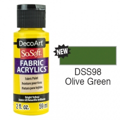 SoSoft Fabric Color-2oz(59ml)-DSS98-Olive Green