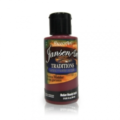 DecoArt Traditions Acrylic Paint-DAT47: Brown Madder-3oz(90ml)