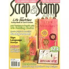 Scrap & Stamp Arts June 2008[특가판매]
