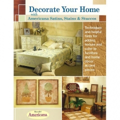 [특가판매]Decorate Your Home with Americana Satins, Stains & Stuccos