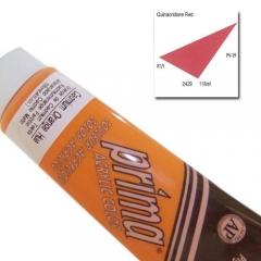 (특가판매)Prima® Acrylic Colors 118ml - 2429 QUINACRIDONE RED