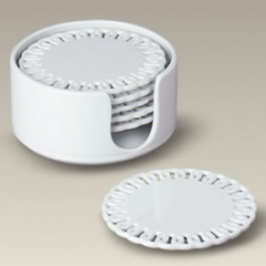 5885 Coaster, set of 6 with holder