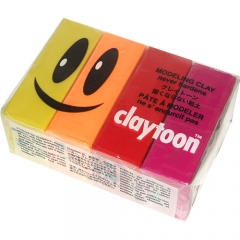 [특가판매]Claytoon 4 Color Set 1LB(453g)-Hot