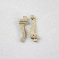12034-Cabriole Leg 1 3/16 2pc
