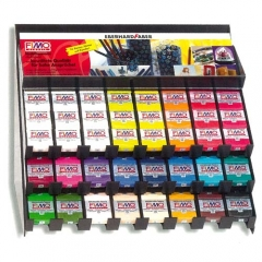 FIMO-Classic Full Color Set-22색*10개씩+진열장[특가판매]