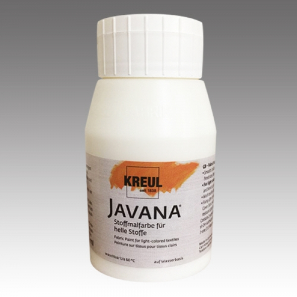 JAVANA TEX Fabric Paints White 500ml-Sunny